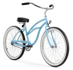 Women's 26 inch Cruiser Bicycle by Firmstrong. The Urban Lady Single Speed, Red is a comfortable and cute cruiser bike for women. Buy online or in store. Beach Cruiser Bikes, Cruiser Bicycle, 26 Beach, Blue Beach, Baby Bike, Thing 1, Commuter Bike, Bicycle Maintenance, Cool Bike Accessories