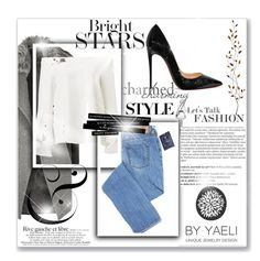 """""""Untitled #115"""" by perlahak on Polyvore featuring River Island, Christian Louboutin, Balmain and Pier 1 Imports"""