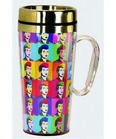 Pop Art Lucy Stainless Steel Travel Mug   LucyStore.com