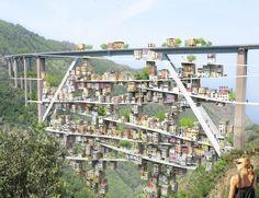 누리꾼 :: 고속도로 기생 도시 이탈리아 남부 고속도로 기생도시 폐쇄된 고속도로 기생도시