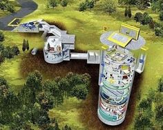 larry hall, survival condo, nuclear bunker, apocalypse bunker, converted missile silo, 2012 doomsday scenario, apocalypse proof bunker, apocalypse proof apartments, survival condo apartments