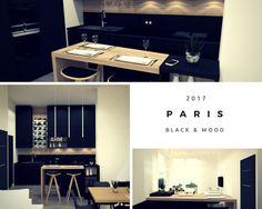 les 220 meilleures images du tableau cuisines sur pinterest en 2018 home kitchens kitchen. Black Bedroom Furniture Sets. Home Design Ideas