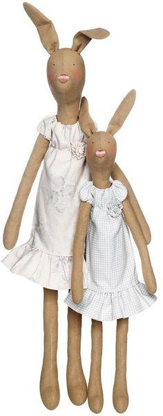 Kit Tilda Hare Mother & Child