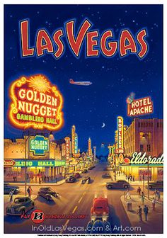 Golden Nugget Poster.