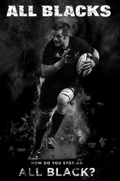 Richie McGaw - All Black. A country of four million plus is home to arguably the most dominant team in sport. But how do the All Blacks remain at the pinnacle more than 100 years after the 'Originals' established their supremacy? All Blacks Rugby Team, Nz All Blacks, Rugby Sport, Rugby Men, Rugby League, Rugby Players, Rugby Quotes, Sport Quotes, Rugby Poster