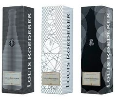 Louis Roederer package design PD/coffret/ligne