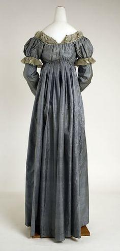 Dress (image 2) | American | 1810 | silk | Metropolitan Museum of Art | Accession Number: 11.60.230