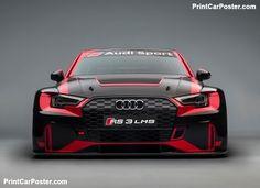 Audi RS3 LMS Racecar 2017 poster, #poster, #mousepad