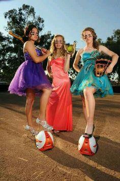 Softbal players