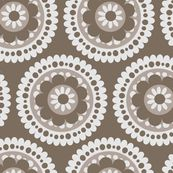 jb_flower_motif_D_rpt by juneblossom at Spoonflower - custom fabric, wallpaper and decals