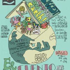 ven a la noche de los libros en ¡Glück! come to the night of books