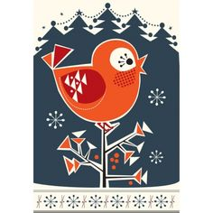 Christmas Hummer Bird by the always wonderful Darling Clementine.