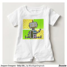 Jeepers Creepers - Baby iBot Romper Suit