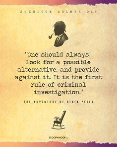 22 Quotes By Sherlock Holmes That Will Awaken The Inner Detective In You