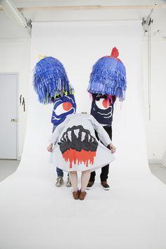 Thread, Fashion and Costume Atelier Photo, Theatre Costumes, Zombie Costumes, Halloween Costumes, Art Textile, Masks Art, Weird And Wonderful, Art Design, Monster