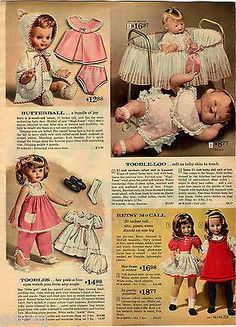 1962-ADVERT-Butterball-Toodle-Loo-Betsy-McCall-Doll-Dolls-Baby
