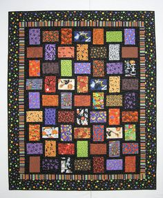 Quick and Easy Quilt Patterns | Spy Quilts: I Spy Halloween Over and Under
