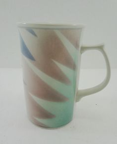 Mikasa Fantazz Intaglio CAC64 John Bergen Cappuccino Coffee Tea Mug Cup 12 oz #Mikasa