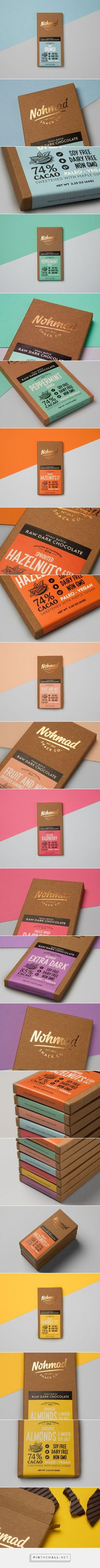 Nohmad Chocolates - Packaging of the World - Creative Package Design Gallery - http://www.packagingoftheworld.com/2016/09/nohmad-chocolates.html