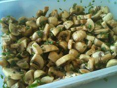 Potato Salad, Tapas, Stuffed Mushrooms, Potatoes, Vegetables, Ethnic Recipes, Food, Stuff Mushrooms, Potato