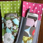 Easy camera/cell phone/ipod pouch costura сумки, шитье e кошельки. Easy Sewing Projects, Sewing Hacks, Sewing Tutorials, Sewing Crafts, Sewing Patterns, Beginners Sewing, Sewing Ideas, Pochette Portable, Diy Pochette