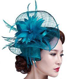 Feather Fascinator Pillbox Hat Kentucky Derby Hat Bridal ... http://www.amazon.com/dp/B018L90L8W/ref=cm_sw_r_pi_dp_.Ttkxb1SM4XZE