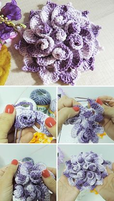 Spring Flower Free Crochet Pattern Video