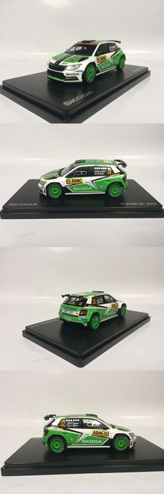 Rally Cars 180271: Abrex Skoda Fabia R5 Rally Deutschland 2016 Lappi Ferm 1:43 000099300Bb -> BUY IT NOW ONLY: $35.15 on eBay!