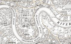 To celebrate its anniversary, the UK's mapping agency, Ordnance Survey, has produced a contemporary map of London in its original cartographic style from 1801 19th Century London, Ordnance Survey Maps, London Now, Richmond Park, Creative Review, Cartography, How To Draw Hands, Messages, Highlands