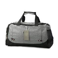 Gym Bag Sports Holdall Diver And Jellyfish Canvas Shoulder Bag Overnight Travel Bag for Men and Women