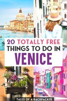 Italy Travel Tips, Europe Travel Guide, Budget Travel, Things To Do In Italy, Free Things To Do, Venice Italy, Verona Italy, Puglia Italy, Sardinia Italy
