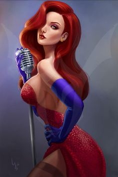 Jessica Rabbit by LidTheSquid.deviantart.com on @deviantART