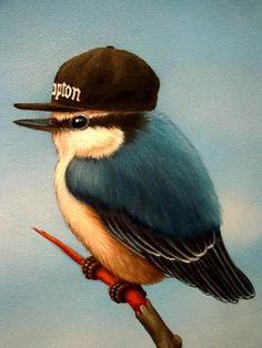 Ghetto ass bird.