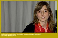 Lic. Miriam Molina Garcia en las Jornadas Cientificas sobre Comunicacion Móvil