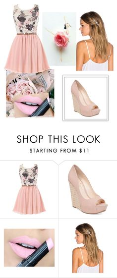"""""""# 185."""" by polinok2010 ❤ liked on Polyvore featuring Jessica Simpson, Fiebiger and Lelet NY"""