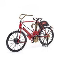 Miniatura Harley-Davidson 1903 Vermelha - Machine Cult   A loja das camisetas de carro e moto