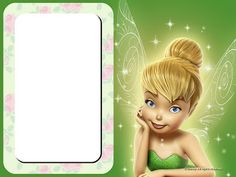 For Tinkerbell Party Invitations, Cards, Backgrounds or Labels.