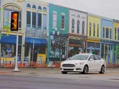 FORD FIRST AUTOMAKER TO TEST AUTONOMOUS VEHICLE AT MCITY, UNIVERSITY OF MICHIGAN'S SIMULATED URBAN ENVIRONMENT