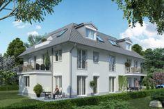 Neubauprojekt auf Diamalt-Gelände in Allach: Sieger für Städtebaulichen Wettbewerb steht fest  ✪  Foto: RS Wohnbau GmbH  ✪  Stadtvilla Walter-Otto-Straße in Untermenzing
