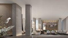 Lobby Lounge, Hotel Lobby, Sales Center, Atrium, Gallery, Home, Reception, China, Roof Rack
