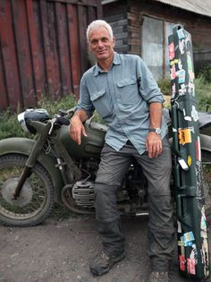 Photo credit: IconFilmsUK x (This file originally posted by Zeghibe & Rhodes) Russian Killers with the Kaluga Jeremy Wade, John Wade, River Monsters, Gary Oldman, Unusual Things, Awesome Things, Happy Women, Gorgeous Men, Happy Lady