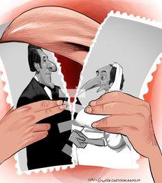 Cartoon: Reconciliação