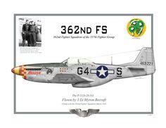 P-51D Mustang 362nd FS
