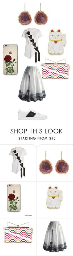 """Untitled #6465"" by bellagioia ❤ liked on Polyvore featuring Marques'Almeida, Kimberly McDonald, Georgia Perry, Sara Battaglia, Chicwish and Marc Jacobs"