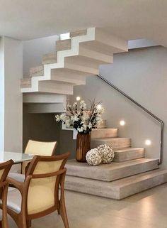 New House Stairs Design Luxury Ideas Home Stairs Design, Interior Stairs, Modern House Design, Interior Design Living Room, Stair Design, Staircase Design Modern, Interior Decorating, Decorating Ideas, Decor Ideas