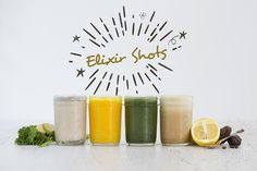 Boost Your Vitality With These 4 Elixir Shots!