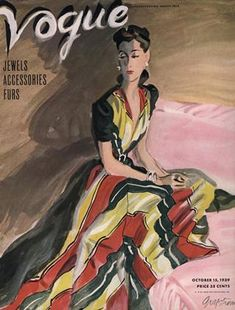 Publication Name | October 15 1939 Vogue Magazine Covers, Fashion Magazine Cover, Fashion Cover, Vogue Vintage, Vintage Vogue Covers, Vintage Fashion, Moda Fashion, Vogue Fashion, Fashion Art