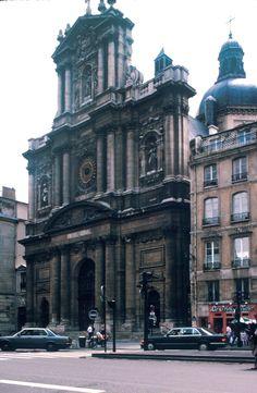 The Jesuit Church Of Saint Paul Saint Louis In Paris France