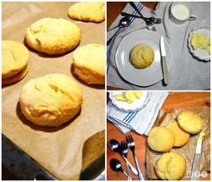 selbstgemachte Buttermilk Biscuits