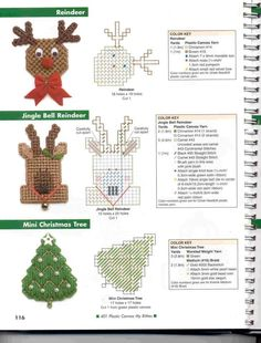 ITTY BITTYS REINDEER, JINGLE BELL REINDEER AND MINI CHRISTMAS TREE